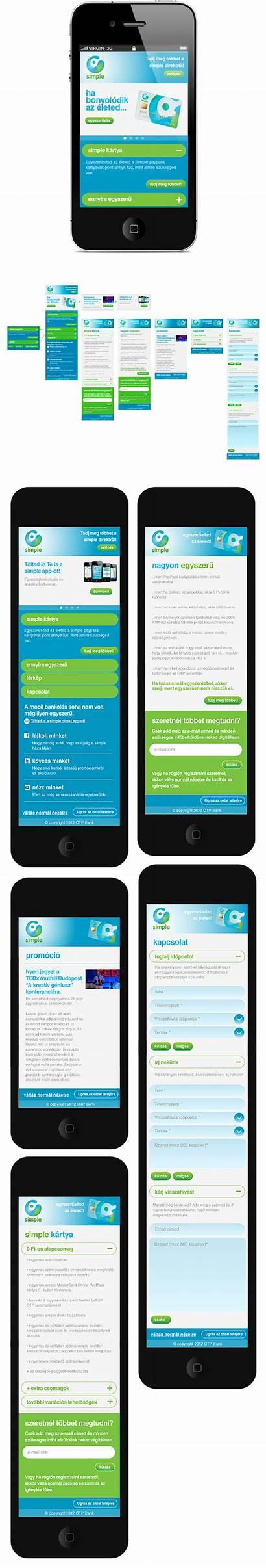 Simple Bank Ui Mobile Behance