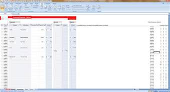 income and expense statement excel expense tracking spreadsheet template spreadsheet