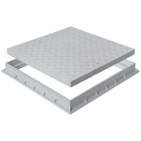 béton ciré plan de travail cuisine sur carrelage ton de sol pvc léger avec cadre anti choc 200x200mm
