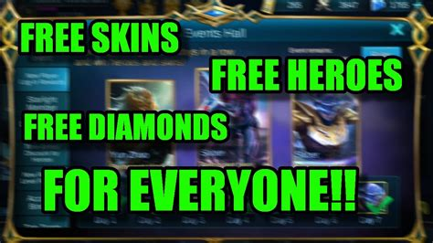 New Hack Diamonds Mobile Legends 100 Working