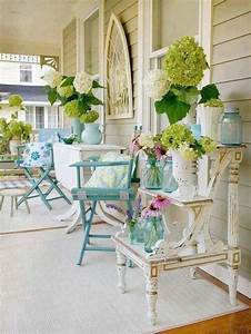 Shabby, Chic, Summer, Porch, With, Blue, And, Neutral, Furniture, U2013, Plushemisphere