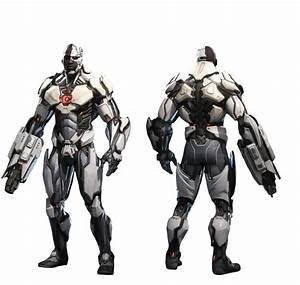 Cyborg (Injustice 2) - Transparent by Asthonx1 on DeviantArt