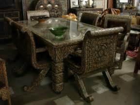 unique dining room sets unique dining room set unique camel bone furniture
