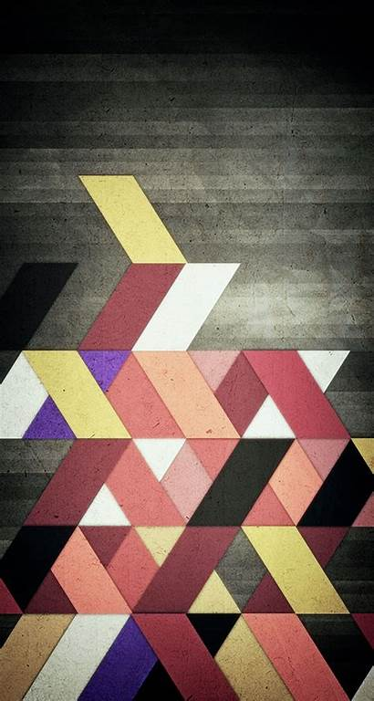 Geometric Abstract Shapes Iphone Wallpapers Triangle Related