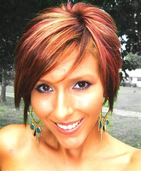 Hairstyles With Tips by 20 Inspirations Of Hairstyles With Highlights