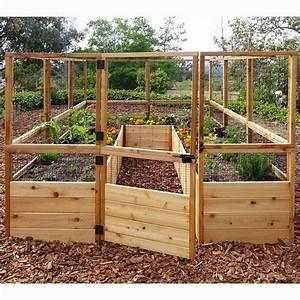 Diy Raised And Enclosed Garden Bed  U2013 The Garden