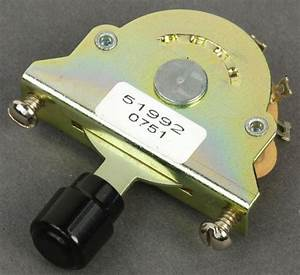 Fender Three Way Pickup Selector Switch  0992041000