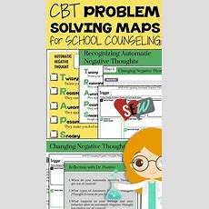 Cbt Problem Solving Maps For School Counseling  Other, Problem Solving And The O'jays