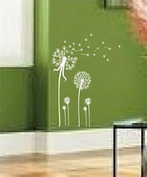 dandelion spore art vinyl wall decal mural sticker ebay