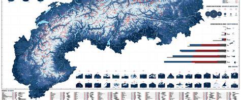 skigebiete  den alpen auf einer karte marmota maps