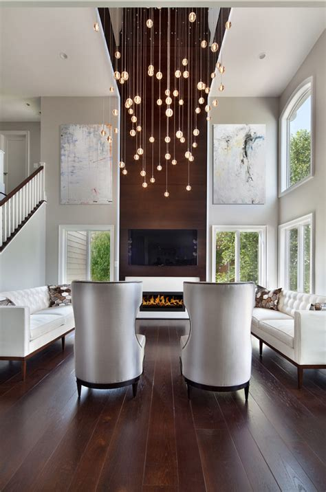 relaxed transitional living room design ideas
