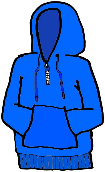 Hoodie Clipart Clipart Hooded Sweatshirt Pencil And In Color