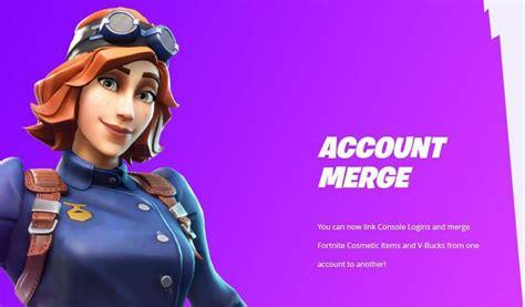 fortnite merge accounts xbox ps4 multiple merging epic games switch zusammen feature together logout tracker skin spielen finally konten fuhren