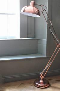 copper angled floor lamp pure copper floor lamp and desks With copper floor lamp ireland