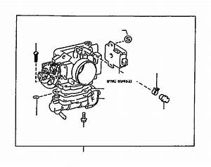 Toyota T100 Screw  Dash Pot Adjusting  System  Fuel