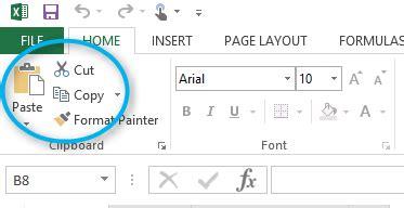 vba disable cut copy paste menu items  excel