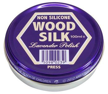aristowax wood silk  silicone lavender polish ml