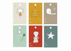 étiquettes De Noel à Imprimer : free printable tiquettes de no l angelitos ~ Melissatoandfro.com Idées de Décoration