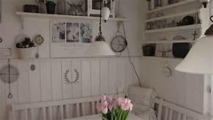 Heidi s home shabby vintage weisse sitzecke in der kuche for Küche vintage look