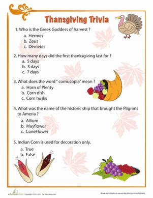 thanksgiving facts for preschoolers 10 thanksgiving trivia questions kitty baby 992
