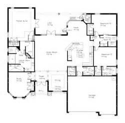 Spectacular Bedroom Single Story Floor Plans by Beattie 1