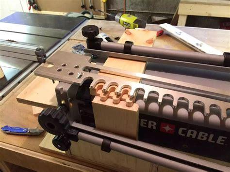 porter cable dovetail jig station  edscustomwoodcrafts
