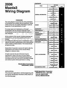 2006 Mazda 6 Radio Wiring Diagram