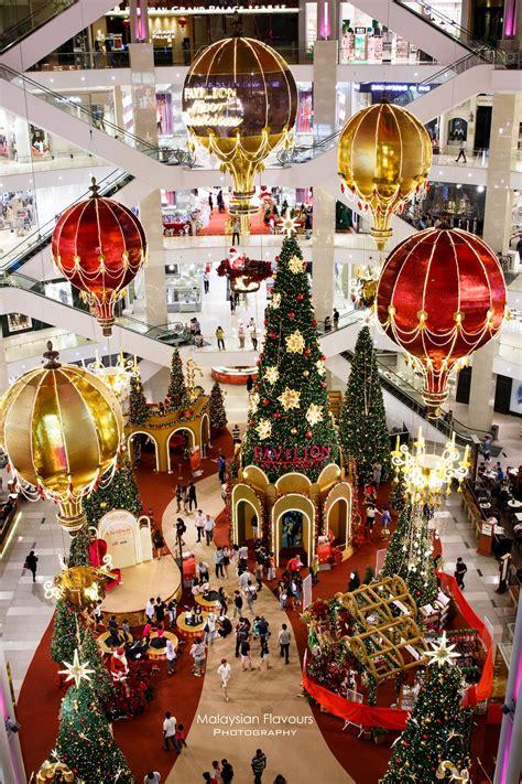 pavilion kl christmas decor  magical hot air balloon