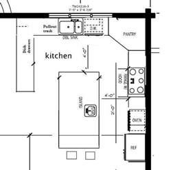 kitchen layout with island 25 best ideas about kitchen layouts on kitchen layout diy kitchen planning and