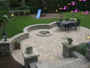brick patio with pit view source more brick paving outdoor grills patio design pavers d