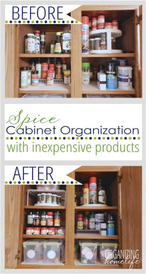 how to organize your kitchen spices 17 best ideas about spice cabinet organize on 8784