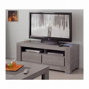 Table Pour Tv : meuble tv haut gris d coration d 39 int rieur table basse ~ Teatrodelosmanantiales.com Idées de Décoration