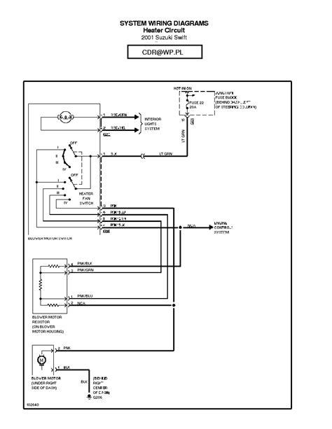 car repair manual download 1998 suzuki swift windshield wipe control suzuki swift 1998 1999 2000 2001 sch service manual download schematics eeprom repair info