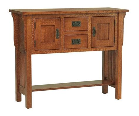 Amish Sideboard by Amish Lancaster Mission Sideboard