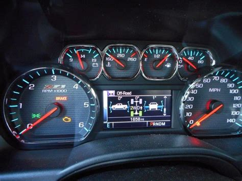 gauge cluster attempted upgrade   chevy