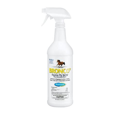 citronella l bq bronco e equine fly spray plus citronella scent