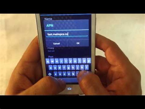 metropcs bring your own phone how to fix on unlocked cell phones apn data