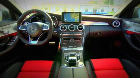 The new c63 is here! New 2015 Mercedes AMG C63 Sedan - Interior - YouTube
