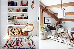 tapis berbere vs tapis kilim il est temps de choisir son With tapis berbere avec canapé convertible pour tous les jours