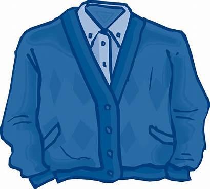 Clipart Closet Clip Cardigan Jeans Wardrobe Clothes