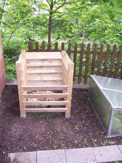Komposter Selber Bauen Holz by Kompost Bauen Selbst De