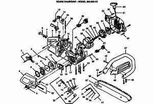 Craftsman Gas Chain Saw Parts