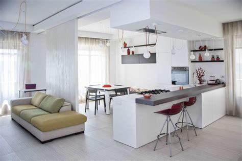 peinture salon cuisine ouverte cuisine ouverte sur salon une solution pour tous les espaces