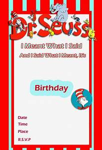 Dr seuss birthday card gangcraftnet for Dr seuss birthday card template