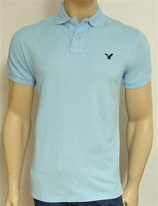American Eagle Outfitters AEO Mens Pale Blue Athletic Fit ...