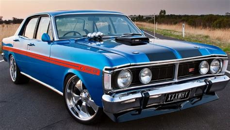 falcon 351 gt vintage cars aussie muscle cars