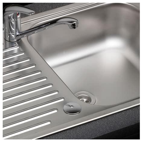 single bowl kitchen sink with drainer reginox duchess single bowl sink and drainer sinks taps 9306