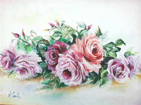dipinti di fiori a olio fiori dipinti ad olio su tela galleria on line di
