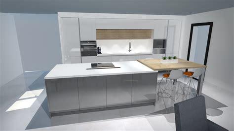 cuisine bois blanche meilleures cuisine blanche et bois clair image 15789
