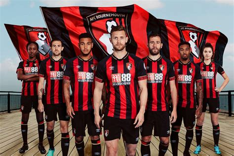 We are based at chapel gate, near east parley in dorset, and provide the football section for their group of. Umbro AFC BOURNEMOUTH 2018-19 Home Jersey | Choozily